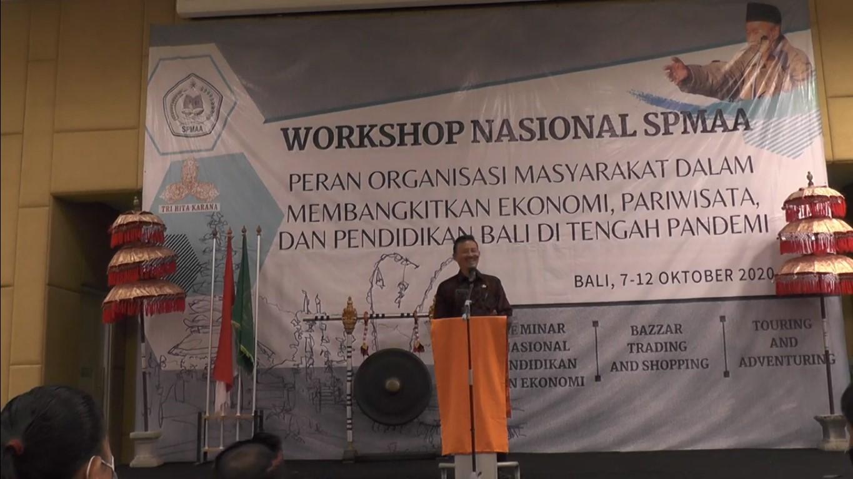 Workshop Nasional SPMAA 2020 – Liputan
