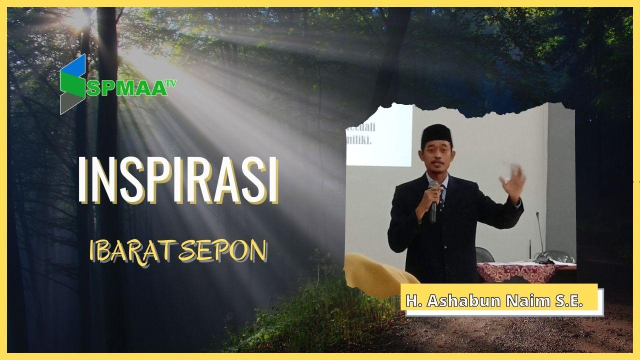 Ibarat Sepon – Inspirasi