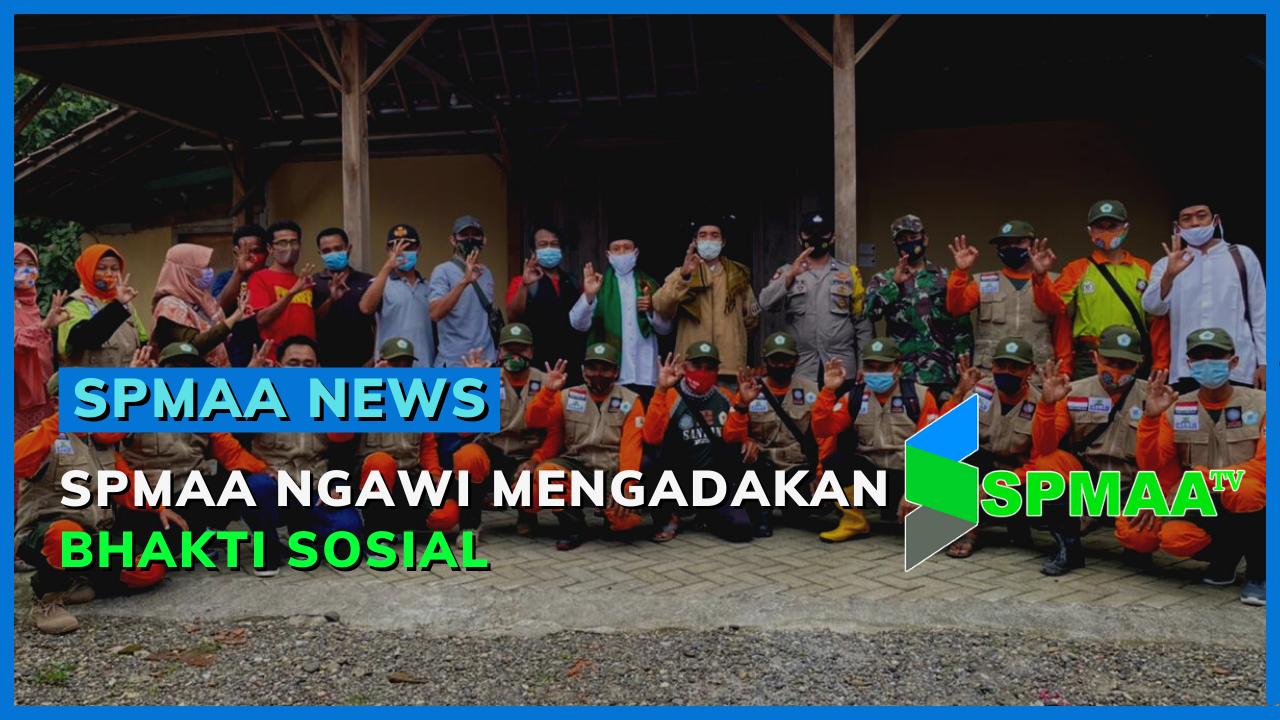 Aksi Bakti Sosial SPMAA Ngawi – SPMAA News