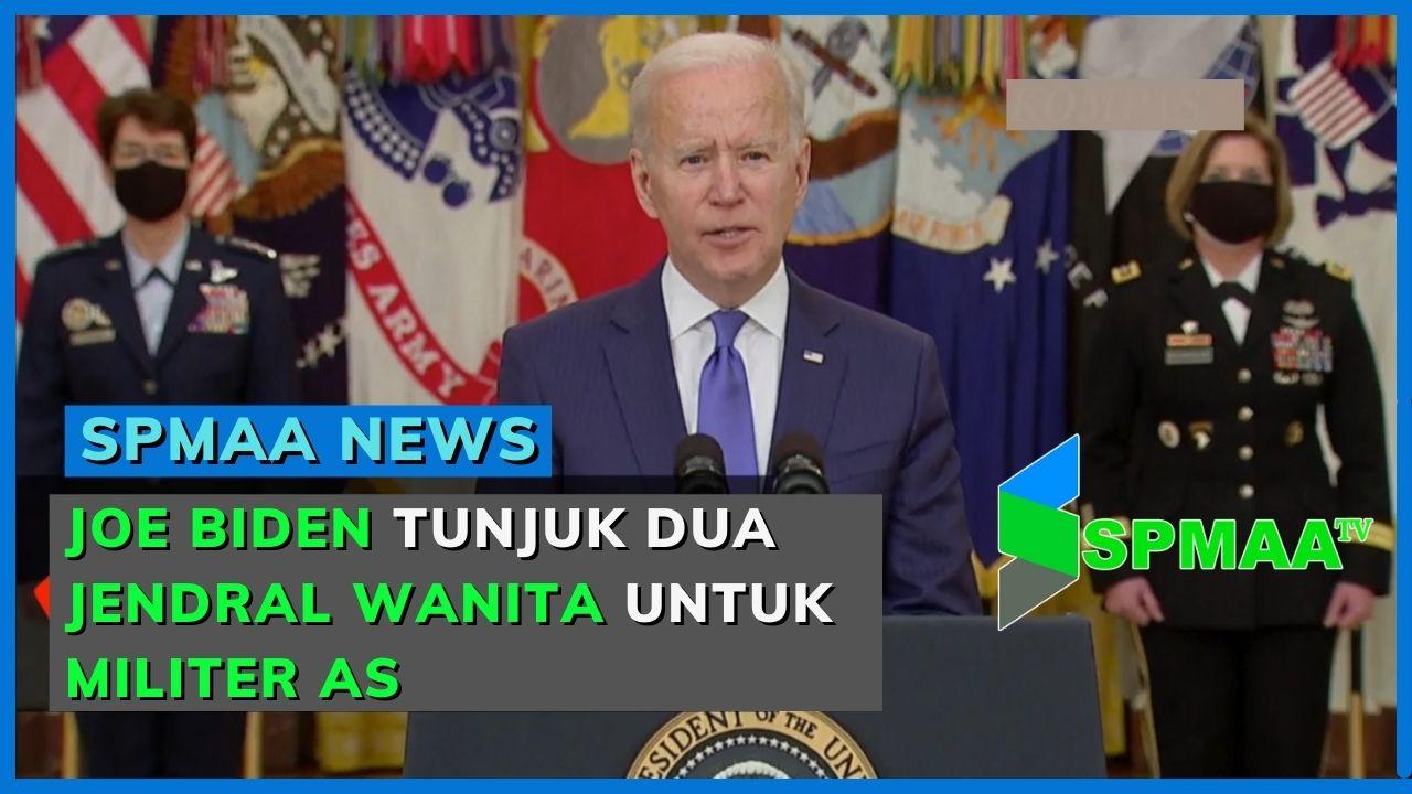 Joe Biden Tunjuk Dua Jendral Wanita untuk Militer AS